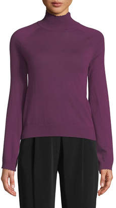 Co Long-Sleeve Turtleneck Cashmere Sweater