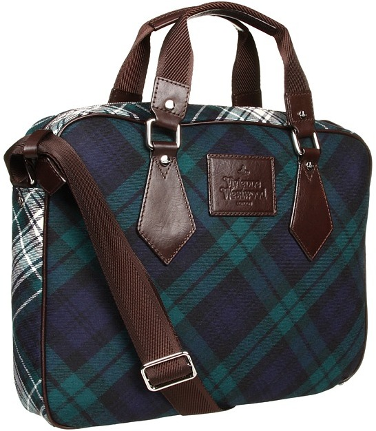 Vivienne Westwood Single Compartment Computer Bag