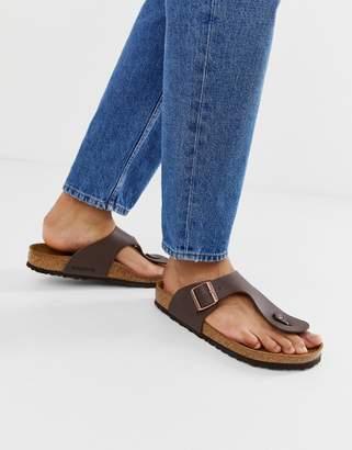 1d7ed5ba7 Birkenstock Ramses birko-flor sandals in dark brown