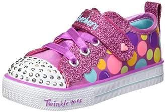 Skechers Girls' Shuffle LITE-Beauty Bounce Sneaker