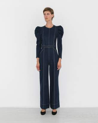 Ulla Johnson Indigo Dawn Jumpsuit