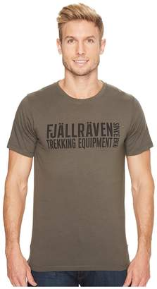 Fjallraven Equipment Block T-Shirt Men's T Shirt