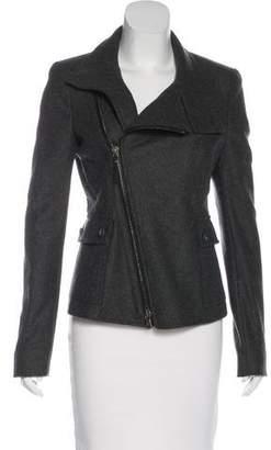 Diesel Black Gold Wool Zip-Up Jacket