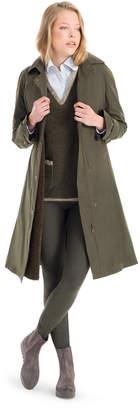Max Studio faux fur lined water resistant overcoat
