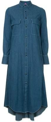 Y's denim shirt dress