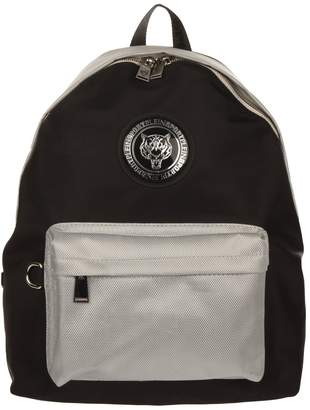 Philipp Plein Logo Nylon Backpack
