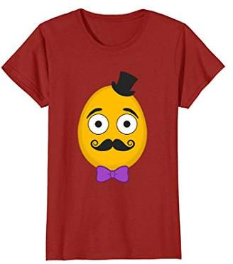 Funny Mustache Easter Egg Shirt Gift