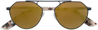 Mcq By Alexander Mcqueen Eyewear round framed sunglasses
