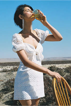 Finders Keepers HONEYMOON MINI DRESS ivory