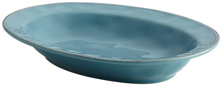 Agave Blue Cucina Dinnerware 12 Oval Serving Bowl