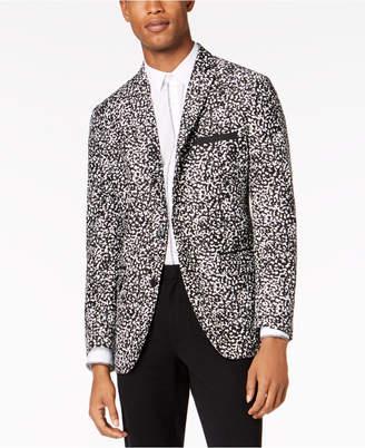 INC International Concepts I.N.C. Men's Slim-Fit Patterned Sport Coat, Created for Macy's