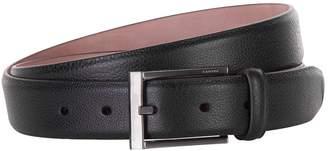 Lanvin Grained Leather Belt
