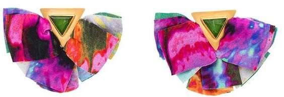 Katerina Makriyianni Ohrringe im Schmetterling-Design