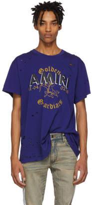 Amiri Blue Team Logo T-Shirt
