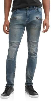 Rocawear Men's The Flacko Jean Slim Fit, Stretch, 5 Pocket Denim