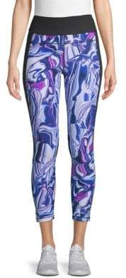 Calvin Klein Printed Pocket Capri Leggings