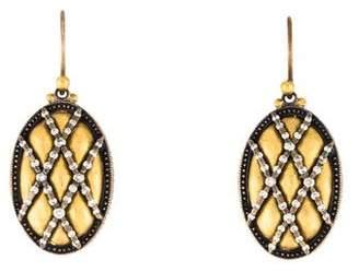 Gurhan Diamond Quilted Drop Earrings