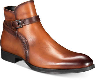 Alfani AlfaTech by Men's Ansell Double Buckle Boots