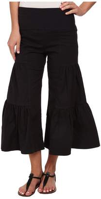 XCVI Cropped Side Tier Palazzo Women's Casual Pants