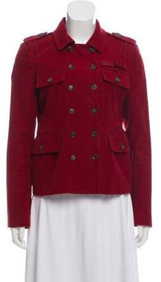 Gucci Double-Breasted Button-Up Jacket