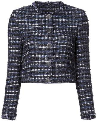 Moschino embroidered fitted jacket