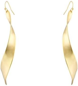 Robert Lee Morris Linear Twist Earrings Earring