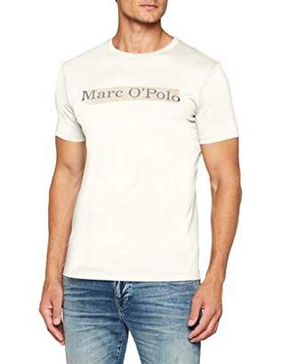 Marc O'Polo Mens 827222051196 T - Shirt - Off-White - Large