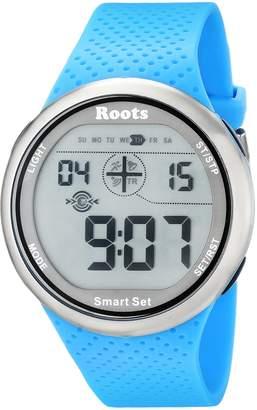 Roots Men's 1R-AT404AQ1A Cove Digital Display Quartz Watch
