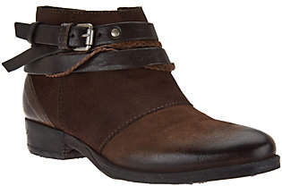 Miz Mooz Leather Ankle Boots - Danita