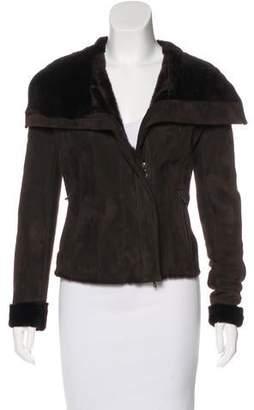 Lanvin Short Shearling Jacket