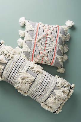 Anthropologie Woven Edna Pillow