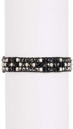 Chan Luu Triple Strand Mixed Bead Bracelet