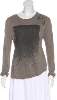 Raquel Allegra Knit Printed Top
