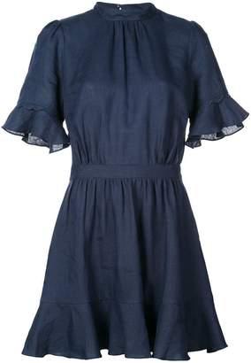 Frame flared mini dress