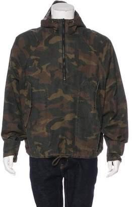 Yeezy Camouflage Anorak Jacket