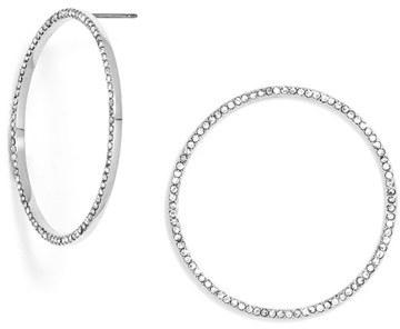 Women's Baublebar 'Circus' Circle Stud Earrings