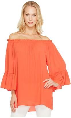 Karen Kane Convertible Off the Shoulder Top Women's Clothing