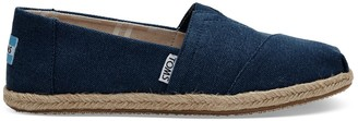 Navy Washed Canvas Women's Classics