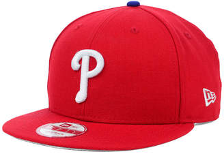 separation shoes 12619 e85cf ... discount code for new era philadelphia phillies mlb 2 tone link 9fifty  snapback cap 74535 39556