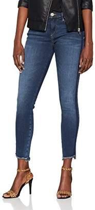 True Religion Women's Halle Blue Navy Stripes Skinny Jeans, 4125, 29W x 32L