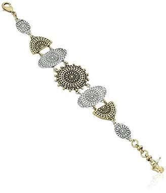 Lucky Brand Women's Medallion Link Bracelet