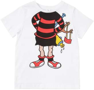 Stella McCartney Cartoon Printed Cotton Jersey T-Shirt