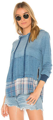 Bella Dahl Shirt Tail Hoodie