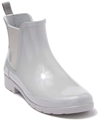 Hunter Refined Chelsea Waterproof Rain Boot (Women)