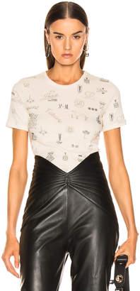 Loewe Logo T Shirt in Calico | FWRD