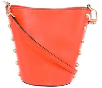 Flynn Leather Pierce Crossbody Bag w/ Tags