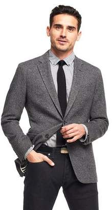 Todd Snyder Black Label Made in the USA Sutton Unconstructed Sport Coat in Cashmere Charcoal Tweed