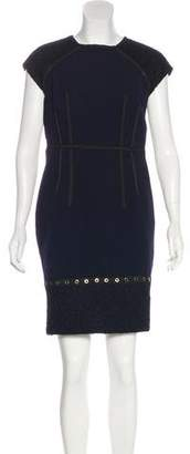 Andrew Gn Knee-Length Sheath Dress