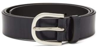 Paul Smith Leather Belt - Mens - Black