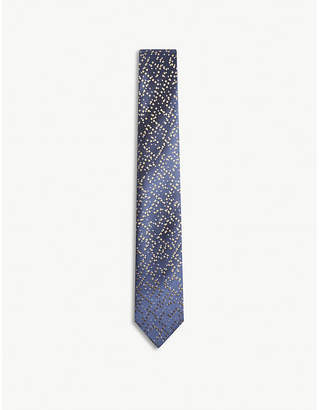Richard James Pixels silk tie